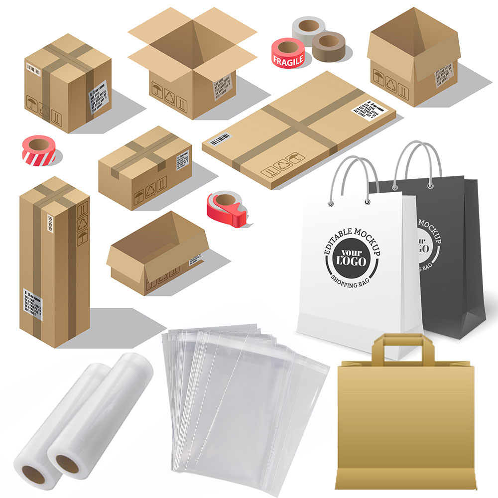 Finishing of cardboard packaging